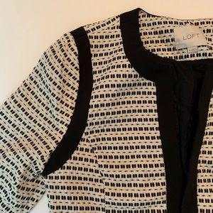 LIKE NEW Ann Taylor LOFT Jacket Size 10